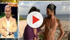 Fabio Colloricchio a Supervivientes, la futura suocera fredda con lui: 'Sei una canaglia'