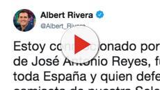 Un mensaje en Twitter por la muerte de Reyes indigna las críticas hacia Albert Rivera