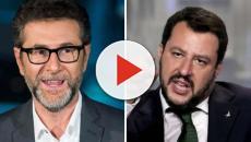 Fazio punge con ironia Salvini: 'Personaggio TV? No, avversario politico, che fortuna'