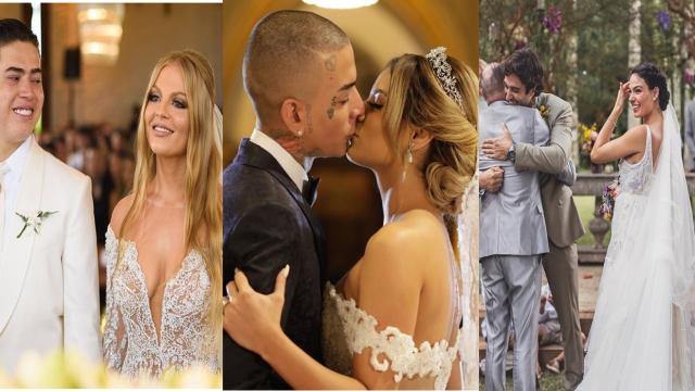 6 casamentos que mais bombaram em 2018