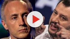 Travaglio: 'Salvini? Non vedo fascismo, a lui piacerebbe essere scambiato per Mussolini'