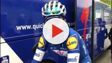 Giro del Delfinato, sesta tappa: Julian Alaphilippe finisce sull'erba ma la vince
