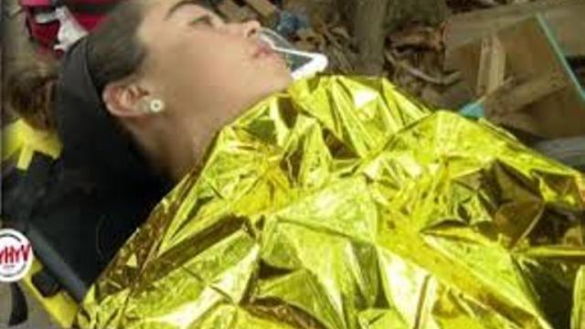Tras sufrir un síncope evacúan a Violeta Mangriñán de la palapa de 'Supervivientes'