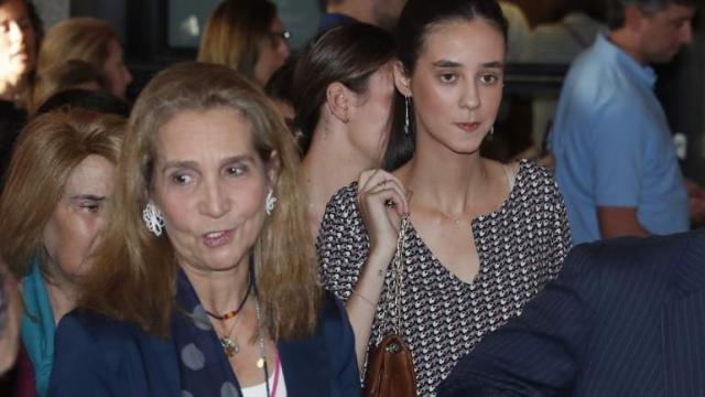 Un sujetador origina un desencuentro entre la Infanta Elena y su hija Victoria Federica