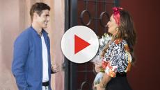 Régis consegue roubar um beijo de Maria da Paz em 'A Dona do Pedaço'