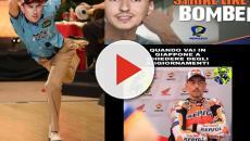 Jorge Lorenzo cade al MotoGp di Catalunya: si scatena l'ironia social