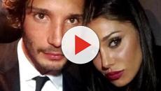 Belen Rodriguez e Stefano De Martino innamorati: lei riempie di baci il ballerino