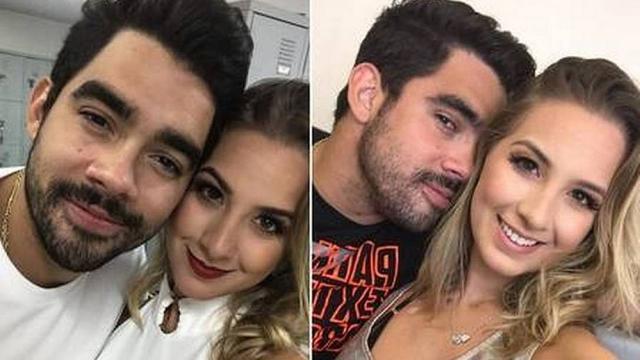Gabriel Diniz recebe homenagem da namorada
