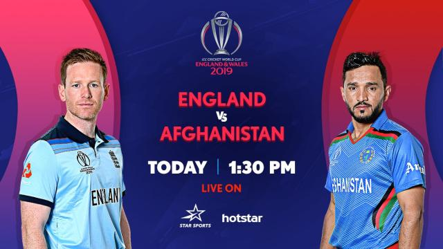 PTV Sports live cricket streaming England vs Afghanistan at Sports.ptv.com.pk: ICC WC 2019