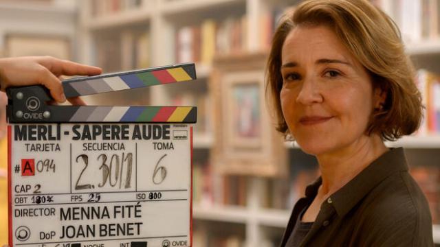María Pujalte será la nueva Merlí en Sapere Aude, el spin-off de Movistar
