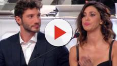 Belen e Stefano incontrano Gilda Ambrosio ad un evento a Milano