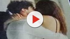 Martina Nasoni e Daniele Dal Moro si baciano in pubblico