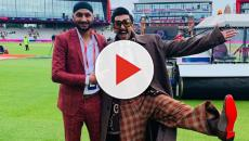 Bollywood actor Ranveer Singh gets a warning for using Brock Lesnar's catchline