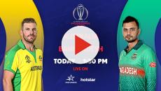 GTV live streaming Bangladesh vs Australia ICC WC 2019 match at Rabbitholebd.com