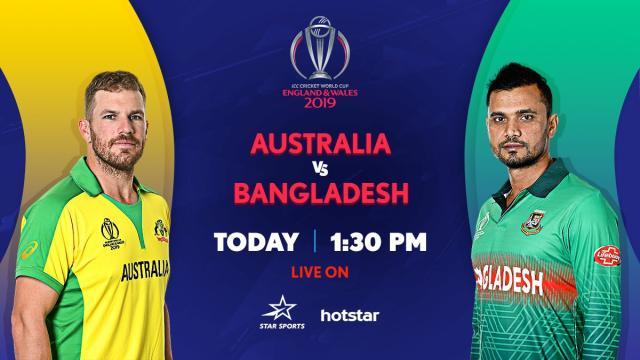 GTV live streaming Bangladesh vs Australia ICC WC 2019 match at Rabbitholebd.com