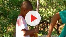 Garoto de 4 anos cata latas para realizar aniversário: 'Minha festa é muito grande'