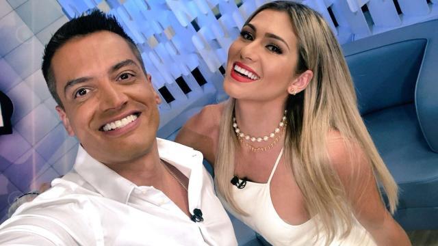 Leo Dias responde Débora Nascimento ao vivo no 'Fofocalizando'