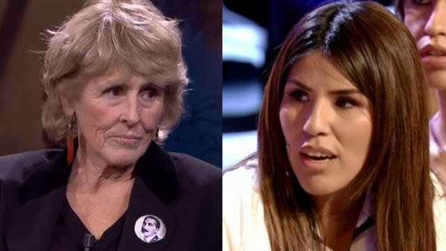 Mercedes Milá desprecia a Chabelita Pantoja al no mencionarla en publicación para Isabel