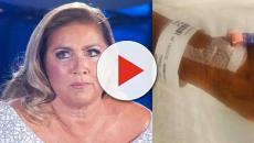 Romina Power ha lasciato l'ospedale dopo l'intervento al ginocchio