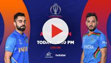 Star Sports live streaming India vs Afghanistan ICC WC match and highlights on Hotstar