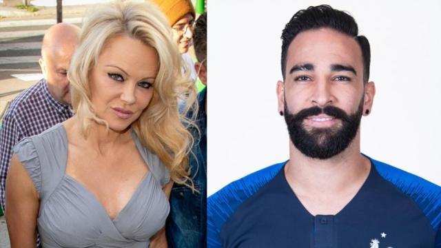 Pamela Anderson rompe con Adil Rami y lo acusa de infidelidad