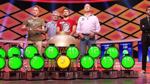 El mayor bote de la televisión, 6,7 millones de euros, se lo llevan 'Los Lobos' en 'Boom'