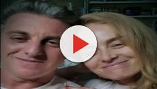 Luciano e Angélica agradecem após alta de Benício