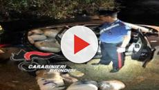 Brindisi: trovata droga in auto abbandonata, valore di circa 1,5 milioni di euro