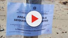 Brindisi, bagnanti superano i sigilli di sequestro: denunciati dalla Guardia Costiera
