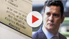 Bar deixa recado contra Sérgio Moro na conta e gera polêmica