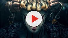 Alex Høgh Andersen publica vídeo dos bastidores de 'Vikings' com maquiagem assustadora
