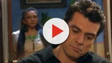 Miguel descobre que Ana Paula está grávida de Gustavo em A Que Não Podia Amar