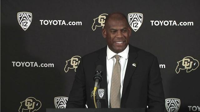 Colorado coach says