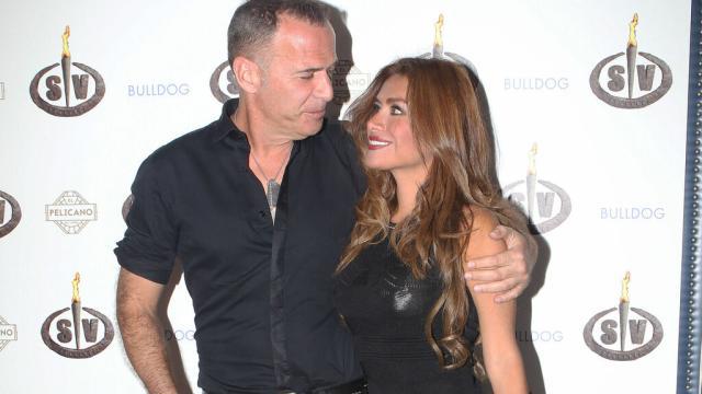 Carlos Lozano y Miriam Saavedra vuelven a estar juntos y él le advierte que no le falle