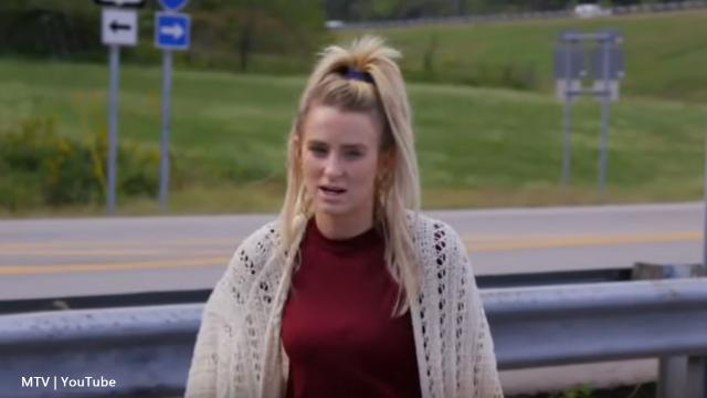 'Teen Mom 2': Leah Messer falls in the pool in hilarious video