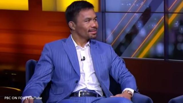 Manny Pacquiao's got the edge on Keith 'One Time' Thurman according to Justin Fortune