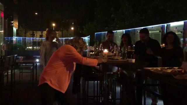 Una vecina graba un vídeo de la fiesta de Terelu la noche de San Juan y 'Sálvame' lo emite