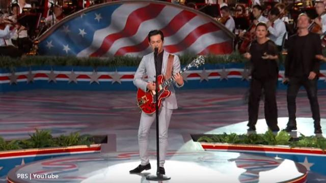 Laine Hardy sang at his first Capitol Fourth concert, got his first Metro ride