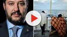 Situazione di stallo fra il muro contro la ONG Mediterranea e Matteo Salvini