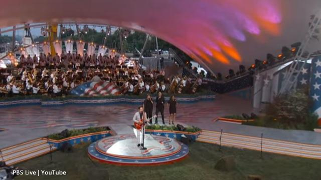 'A Capitol Fourth': The PBS show delighted many people and starred Laine Hardy