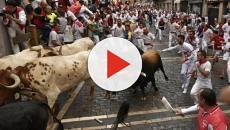Un herido y varias personas con traumatismos en el segundo encierro de San Fermín