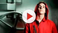 El actor de 'La casa de papel' Miguel Herrán publica en Instagram un video donde llora