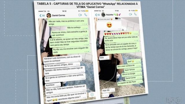 Cristiana Brittes apaga apps de mensagens do celular após morte do jogador Daniel