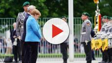 Merkel sufre su tercer ataque de temblores en menos de un mes