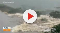 Barragem se rompe em povoado da Bahia