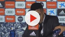 Militao sufre un mareo en rueda de prensa durante su presentación en el Real Madrid