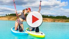 Los instagramers han puesto de moda un lago tóxico de Siberia