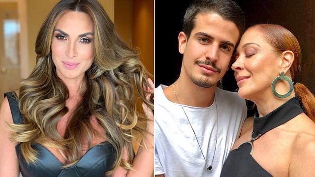 Claudia Raia diz que interferiu no namoro do filho com Nicole Bahls: 'Não é mentira'