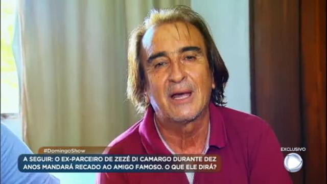 Morre Zazá, cantor que fez dupla com Zezé Di Camargo nos anos 80
