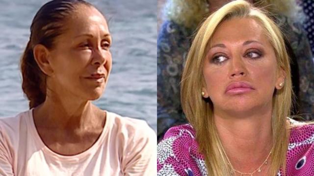 Supervivientes: Belén Esteban critica a Isabel Pantoja por ir al plató con el pelo teñido